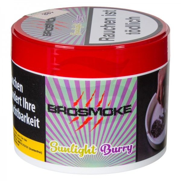 BroSmoke Tabak - Sunlight Burry 200 g