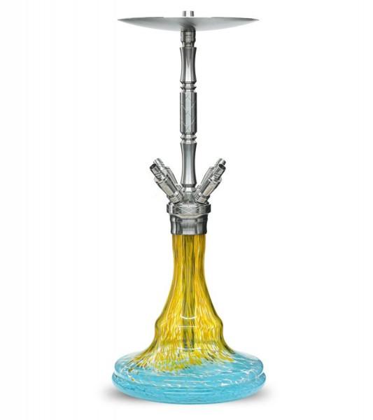 WD Hookah G33-1 - Prag Yellow Blue