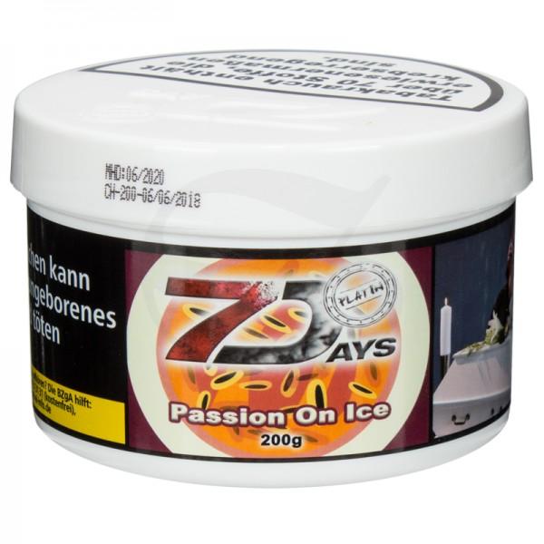 7 Days Platin Tabak - Passion on Ice 200 g