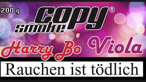 Copy Smoke Tabak - Harry Bo Viola 200g