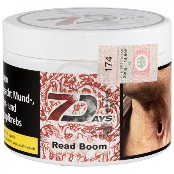 7 Days Tabak - Read Boom 200 g