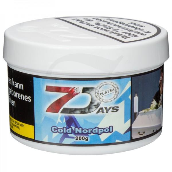 7 Days Platin Tabak - Cold Nordpol 200 g