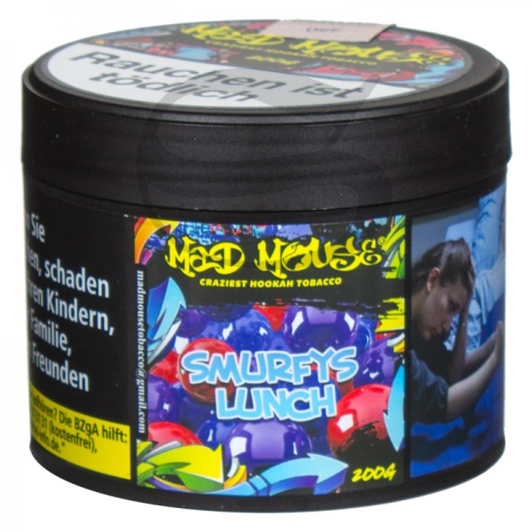 Mad Mouse Tabak - Smurfys Lunch 200 g