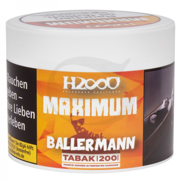 Hasso Maxixum Tabak - Ballermann 200 g