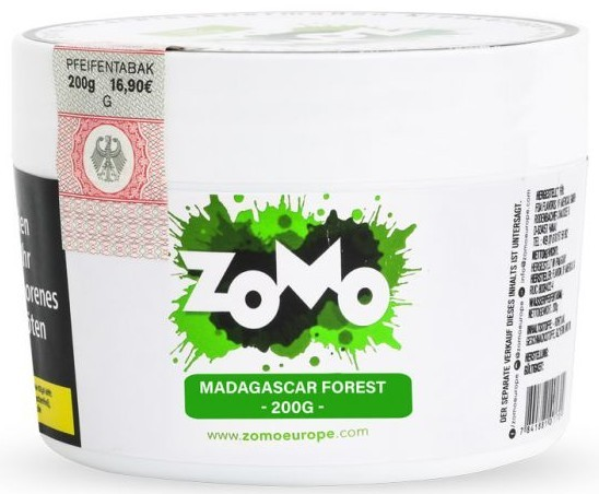 Zomo Tabak - Madagascar Forest 200 g