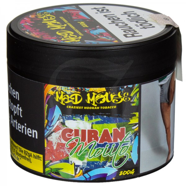Mad Mouse Tabak - Cuban Moiito 200 g