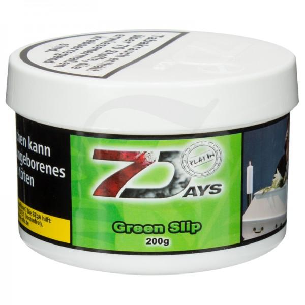 7 Days Platin Tabak - Green Slip 200 g
