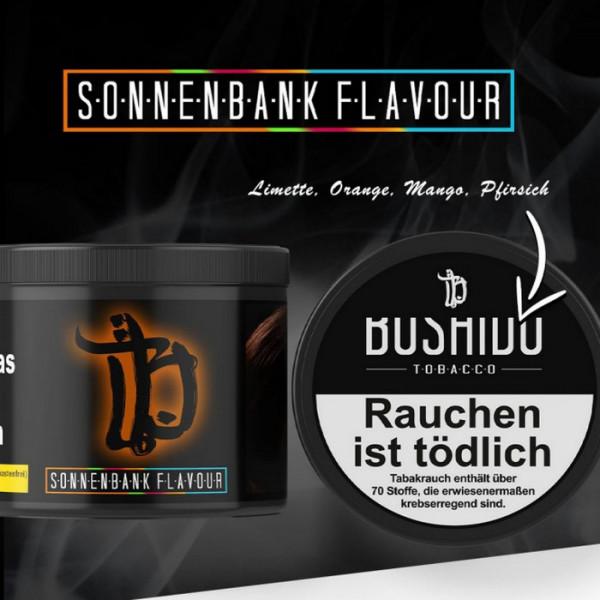 Bushido Tabak - Sonnenbank Flavour 200 g