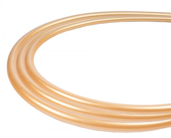 Silikonschlauch Soft-Touch Matt - Gold