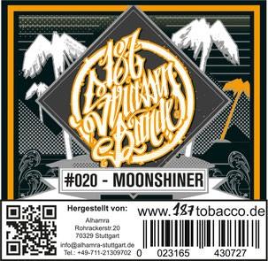187 Strassenbande Tabak Moonshiner 200 g