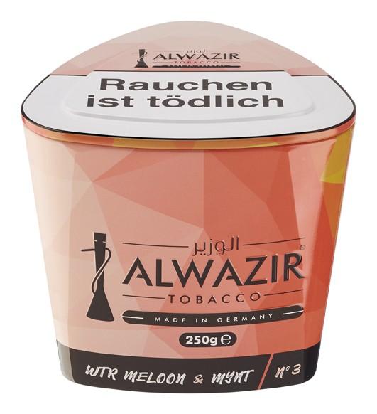 Alwazir Tabak - Wtr Meloon Mynt 250 g