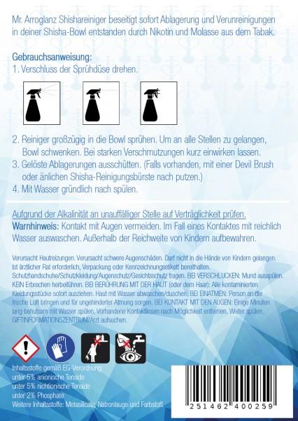 Mr. Arroglanz Shisha Reiniger - 500 ml