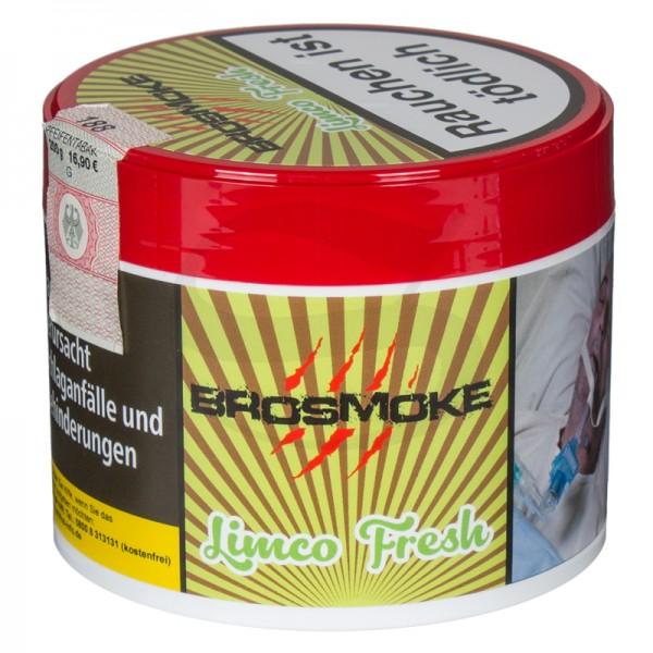 BroSmoke Tabak - LimCo Fresh 200 g