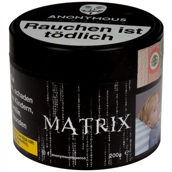 Anonymous Tabak Matrix 200 g Dose