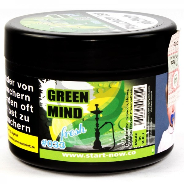 Start Now Gold Tabak - Green Mind Fresh 200 g